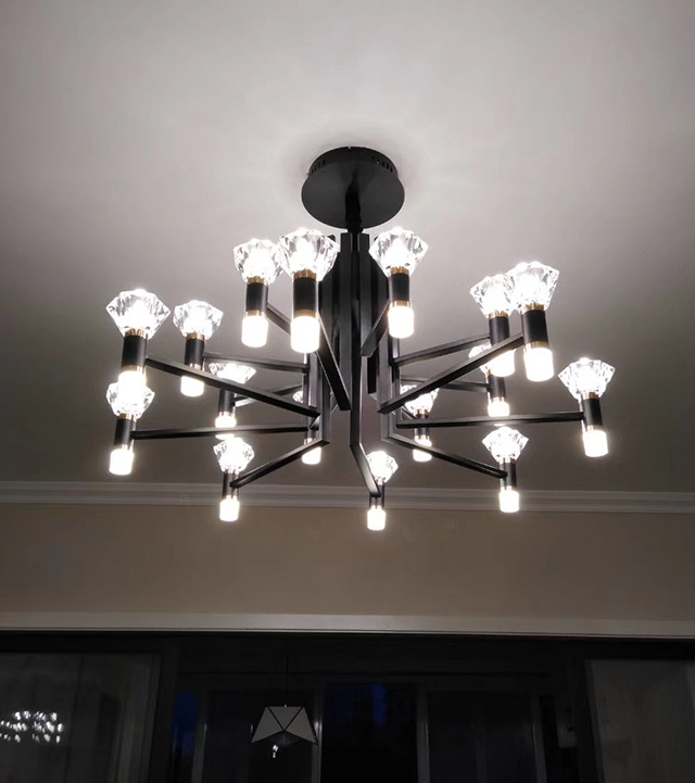 led圓柱發光棒客廳燈