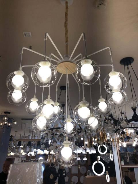 led現代球藝客廳燈