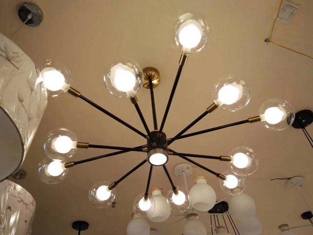 现代艺术球泡客厅灯