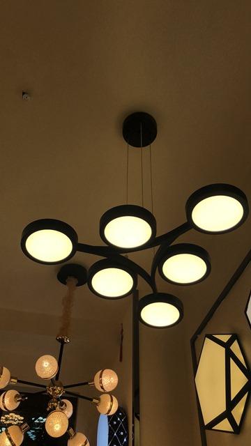 led鸟巢餐厅灯