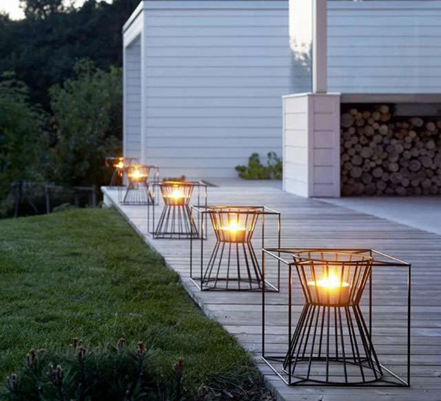 中式护栏灯,庭院围墙灯图片